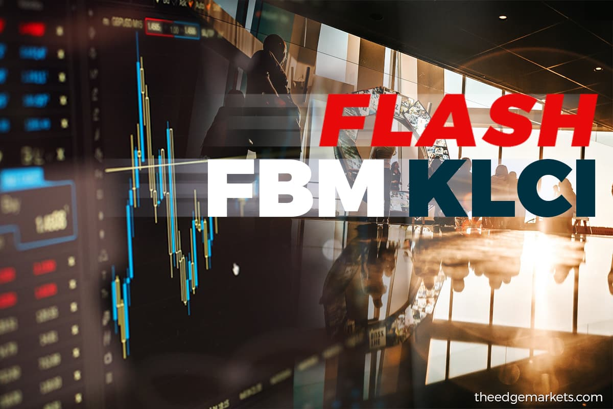 FBM KLCI closes down 3.78 points at 1,521.43