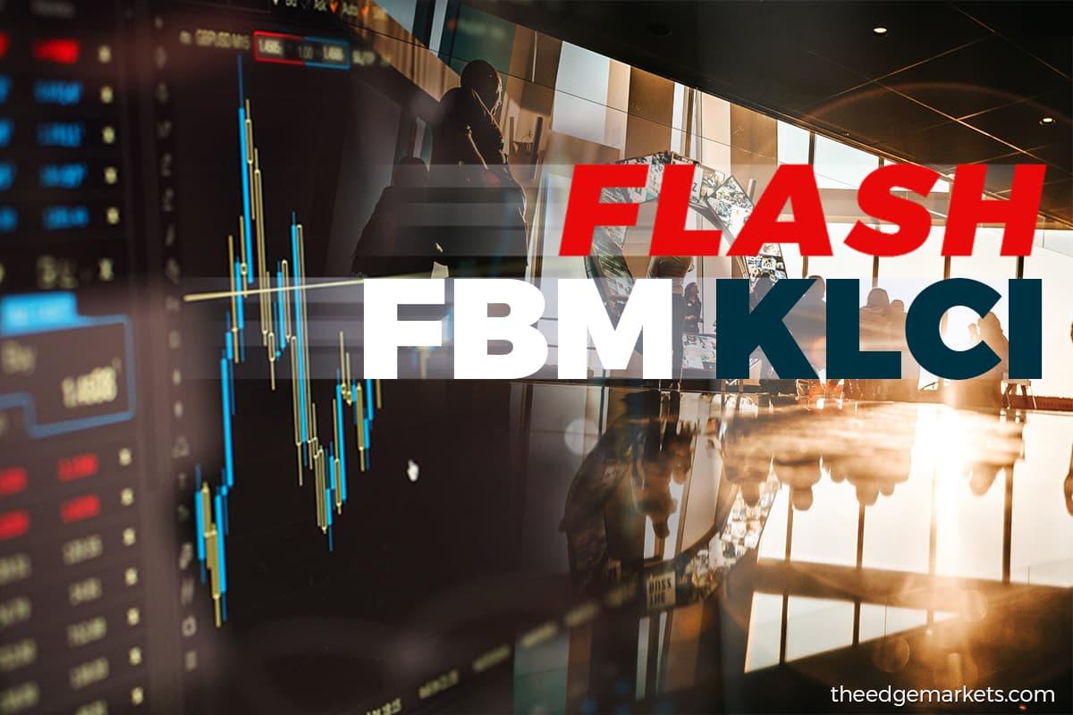 FBM KLCI closes down 11.83 points at 1,564.59