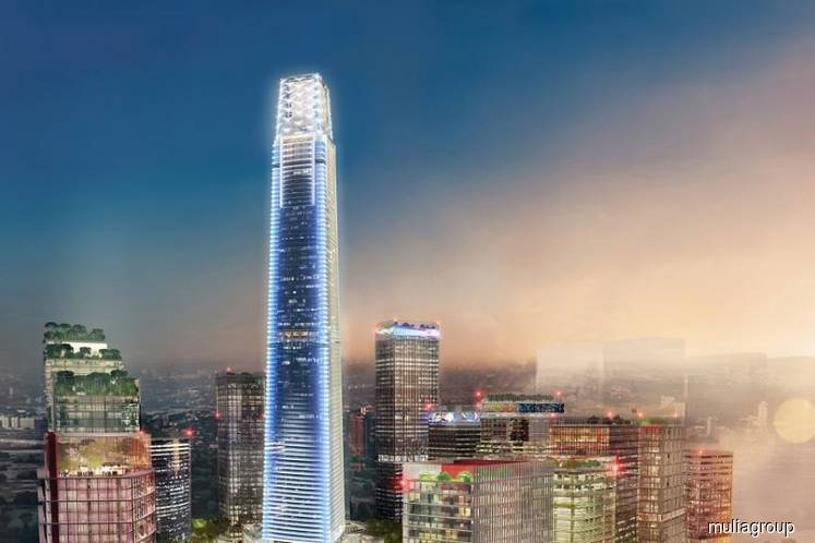 Malaysia's tallest building to be completed in 2Q18