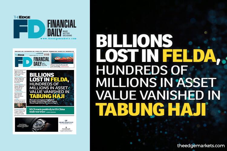 Billions lost in Felda, asset value vanished in Tabung Haji