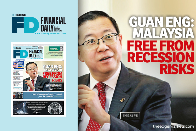 'Malaysia free from recession risks'
