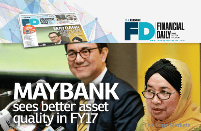 Maybank sees better asset quality in FY17