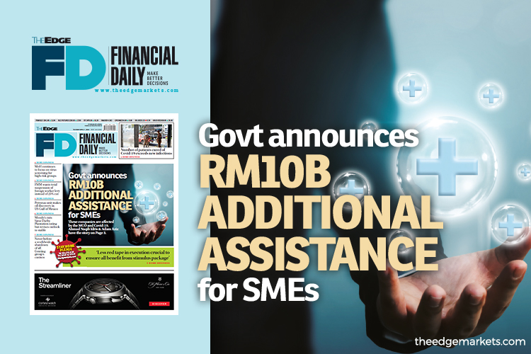Government announces RM10b additional assistance for SMEs