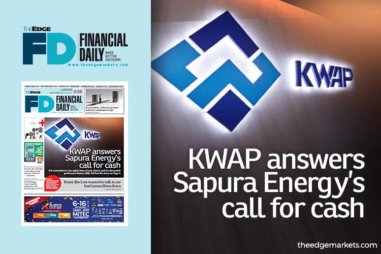KWAP answers Sapura Energy's call for cash