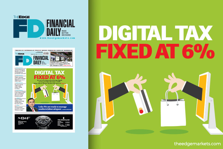 Digital tax fixed at 6%