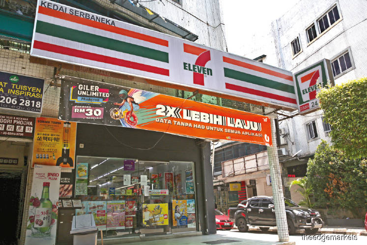 7-Eleven Malaysia posted a higher net profit of RM54.1 million in FY19, up 5.36% from RM51.3 million in FY18. (Photo by Sam Fong)