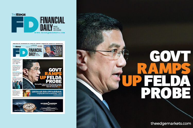 Govt ramps up Felda probe