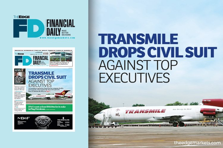 Transmile drops civil suit against top executives
