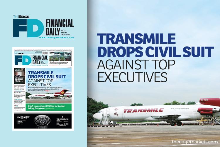 Transmile drops civil suit against top executives