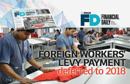 政府展延强制雇主承担外劳人头税措施至2018年