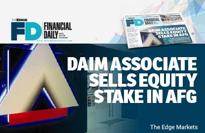 Daim associate sells equity stake in AFG