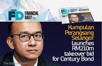 KPS launches RM210m takeover bid for Century Bond