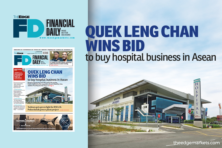 Quek Leng Chan wins bid to buy hospital business in Asean