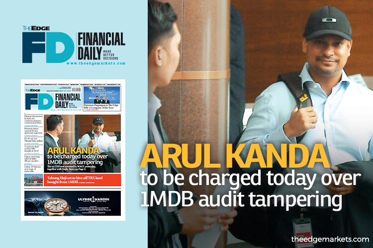 Arul Kanda to be charged today over 1MDB audit tampering