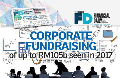 SC sees corporate fundraising of up to RM105b in 2017