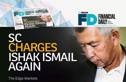 证监会再度提控Ishak Ismail