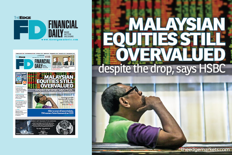 Malaysian equities still overvalued despite the drop, says HSBC