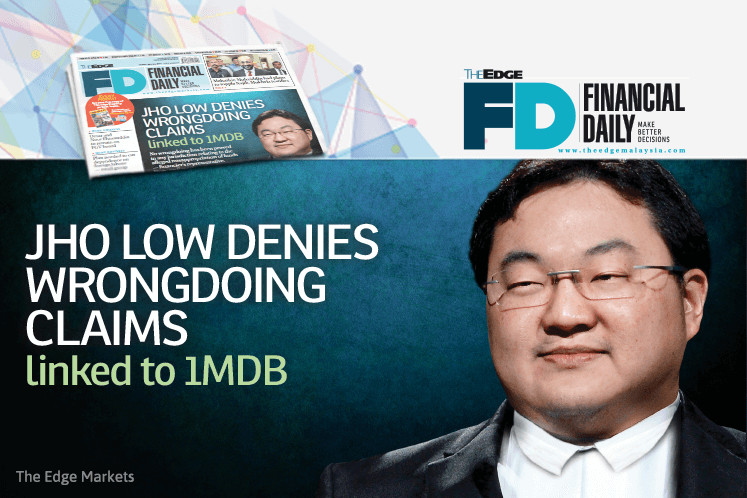 Jho Low denies wrongdoing claims linked to 1MDB