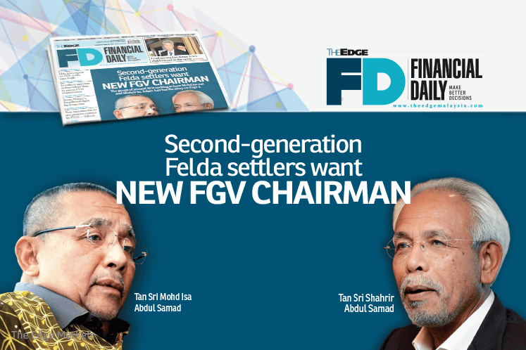 FELDA垦殖民第二代要新的FGV主席