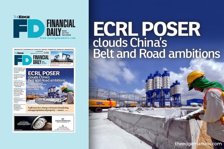 ECRL或喊停笼罩中国一带一路倡议