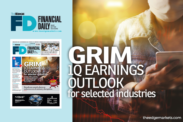 Grim 1Q earnings outlook for selected industries