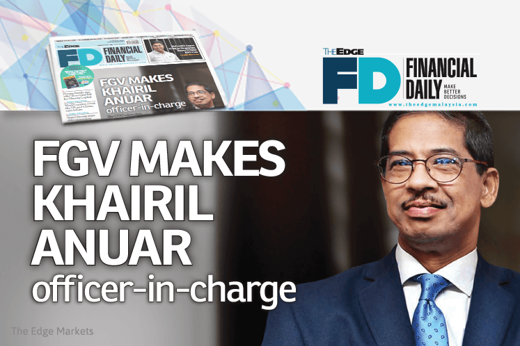 FGV makes Khairil Anuar officer-in-charge