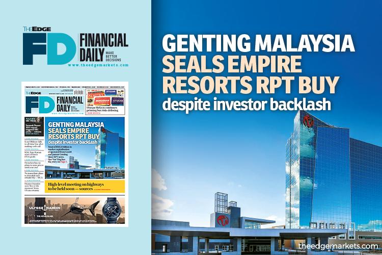 GenM seals Empire Resorts RPT buy despite investor backlash