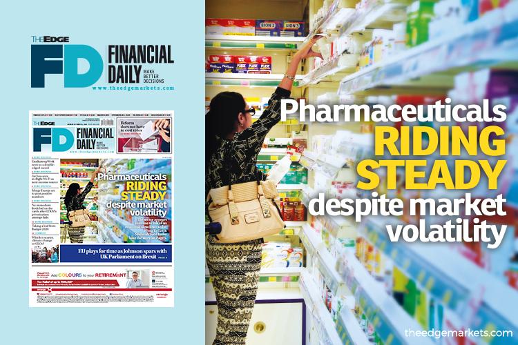 Pharmaceuticals riding steady despite market volatility
