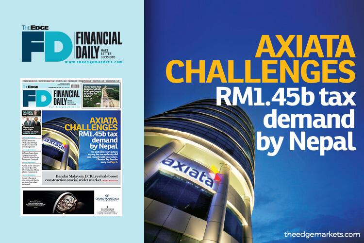 Axiata challenges Nepal's RM1.45b tax demand