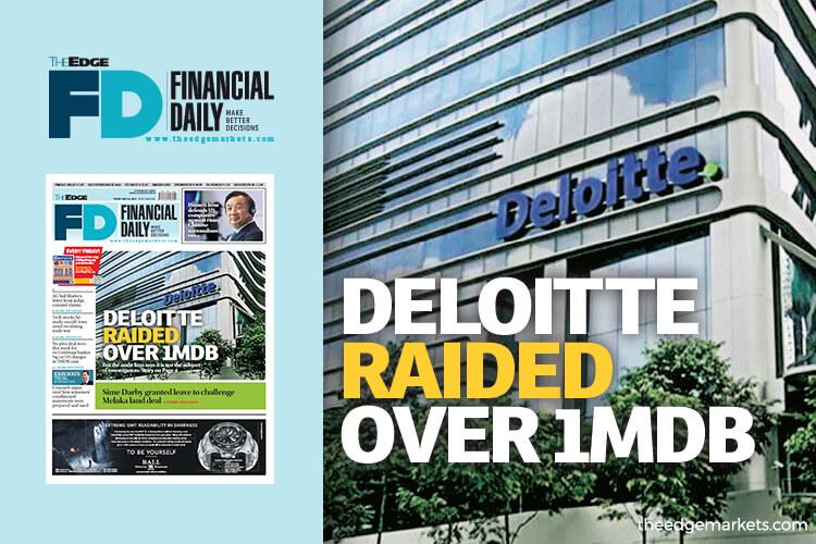 Deloitte raided over 1MDB