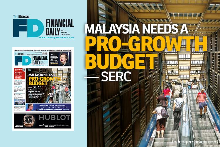 Malaysia needs a pro-growth budget — SERC
