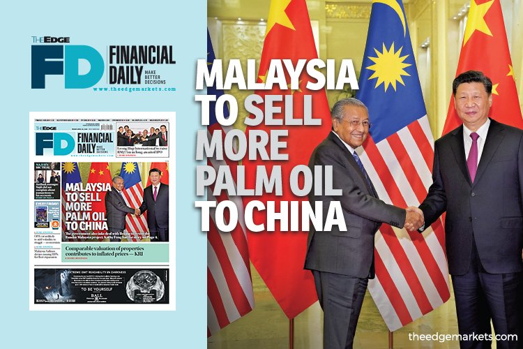 Malaysia to sell more palm oil to China