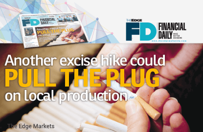 Another excise hike could pull the plug on local production