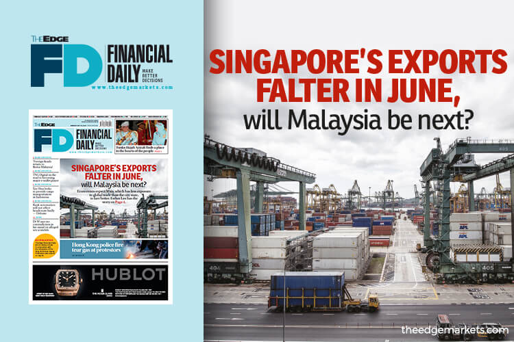 Singapore's exports falter in June, will Malaysia be next?