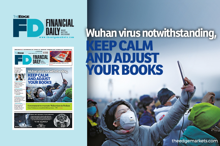 Wuhan virus notwithstanding, keep calm and adjust your books