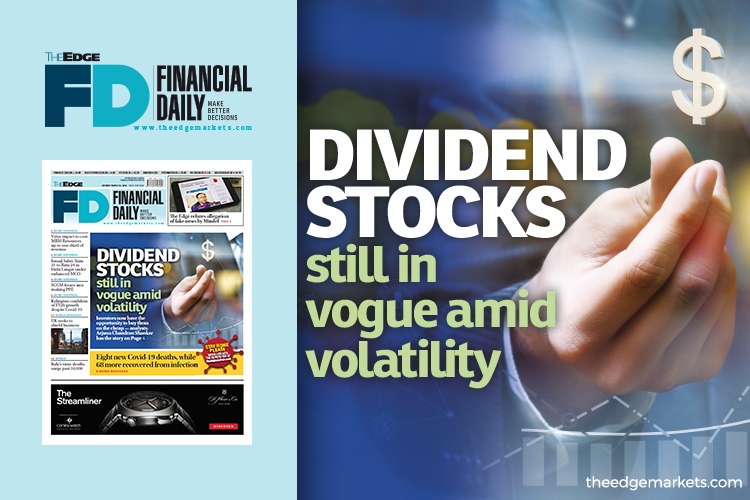 Dividend stocks still in vogue amid volatility