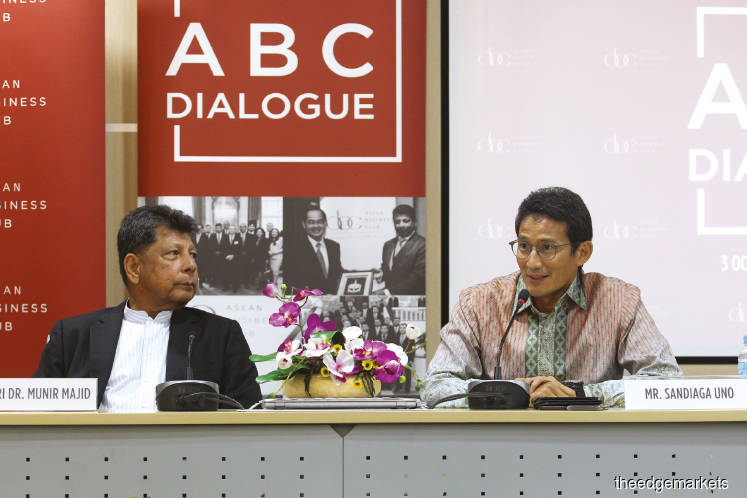 Sandiaga: Digital sector can transform Asean