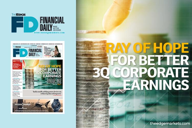 Ray of hope for better corporate earnings for third quarter