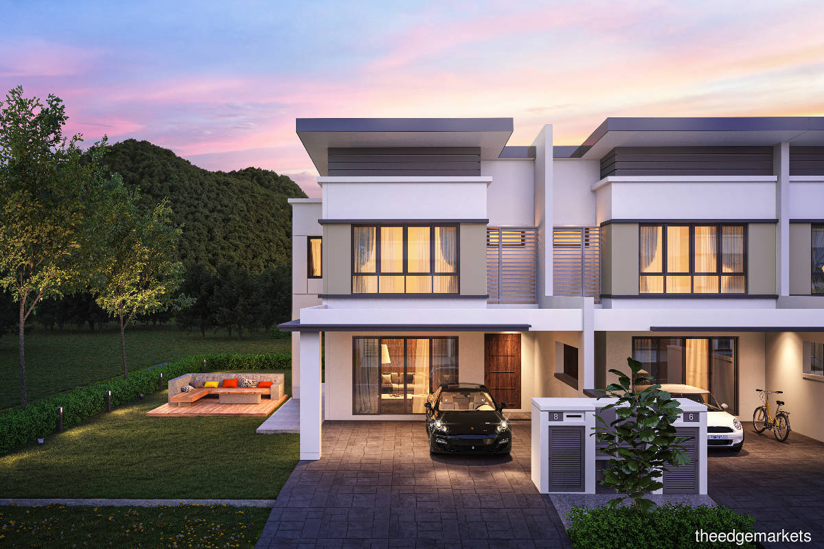 An artist's impression of Aspen Residences ... It is the first of Idaman Hills' six phases and has a gross development value of RM37 million (Photo by TA Global)