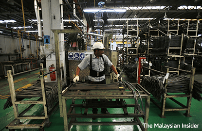 Malaysia's January industrial output up 3.2% on year