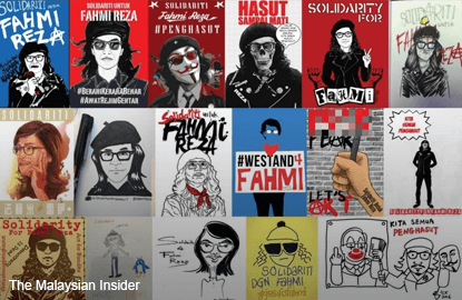 We are all seditious, graphic artists fight back on social media