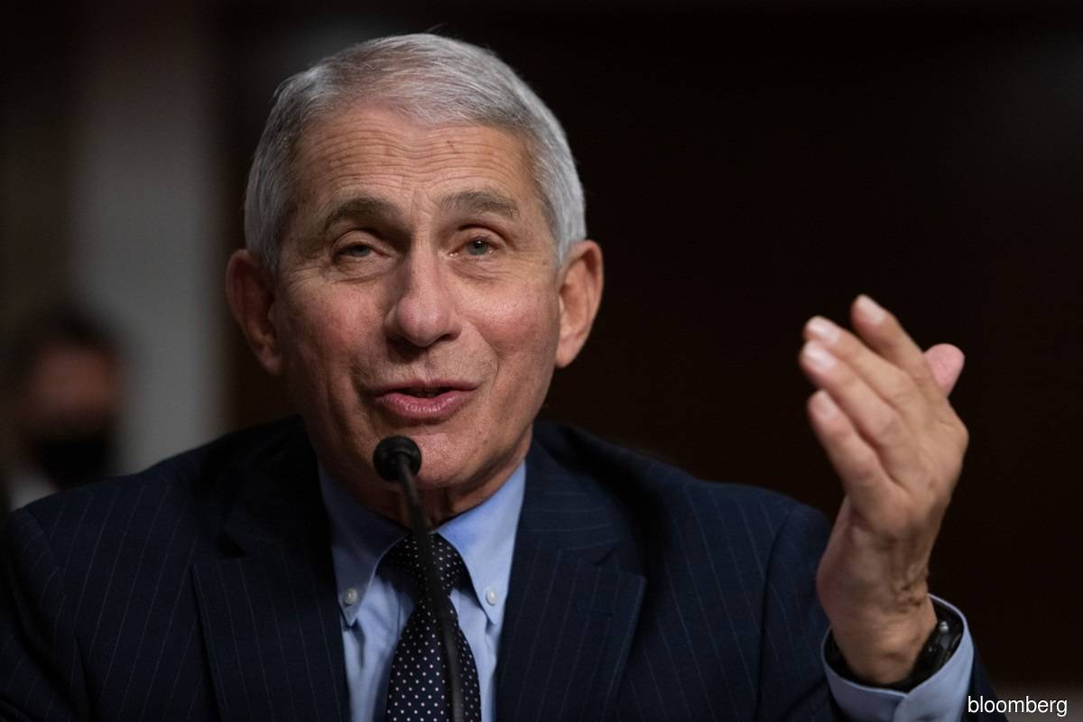 Dr. Fauci says vaccine could be widely available by April