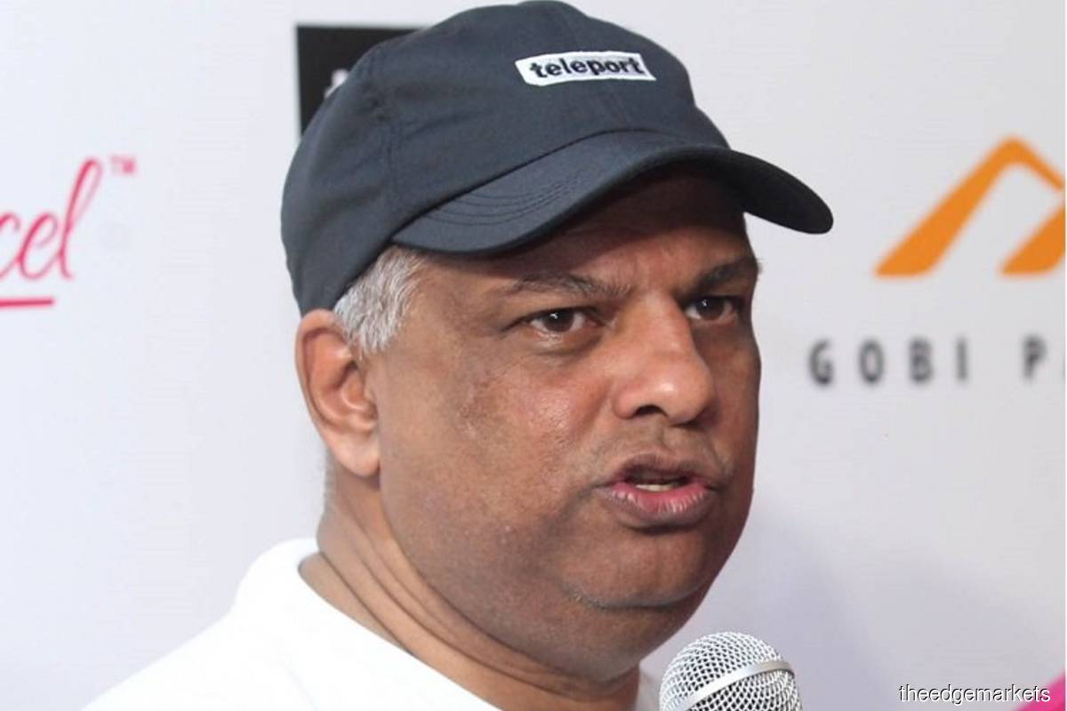 'I'm a top-line man,' says Fernandes as AirAsia sees air travel returning strongly