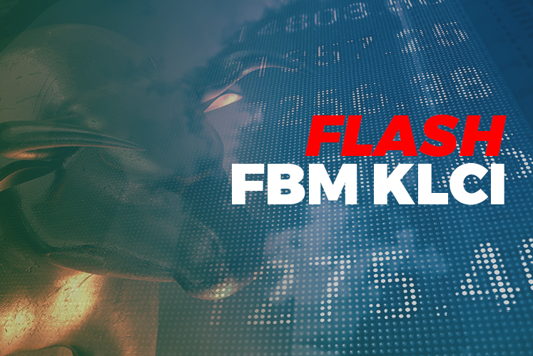 FBM KLCI settles down 0.98 point at 1,450.75 at 12:30pm