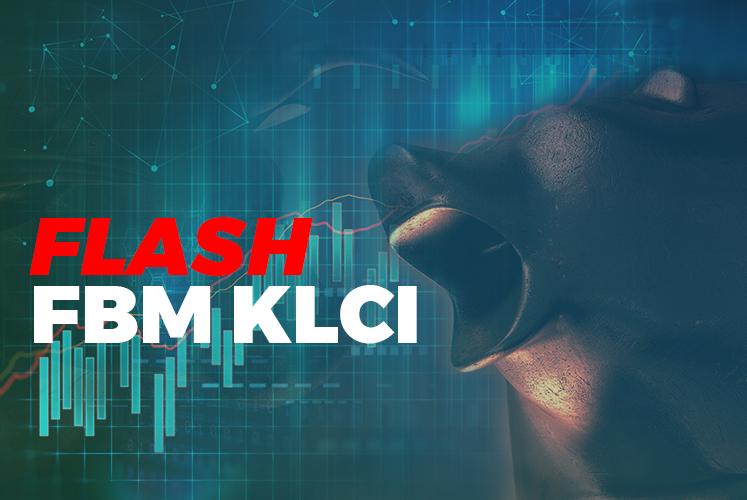 FBM KLCI closes up 13.81 points at 1,423.97