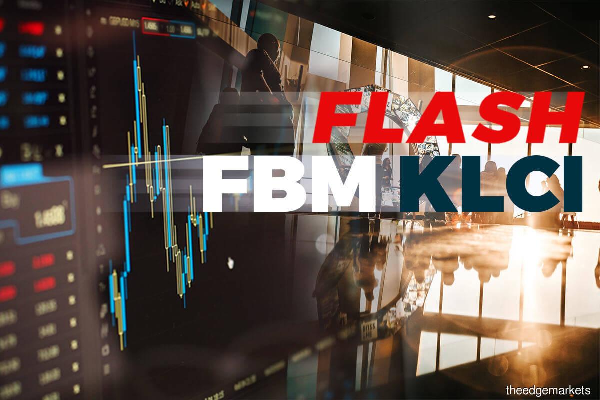FBM KLCI closes down 9.3 points at 1,496.48