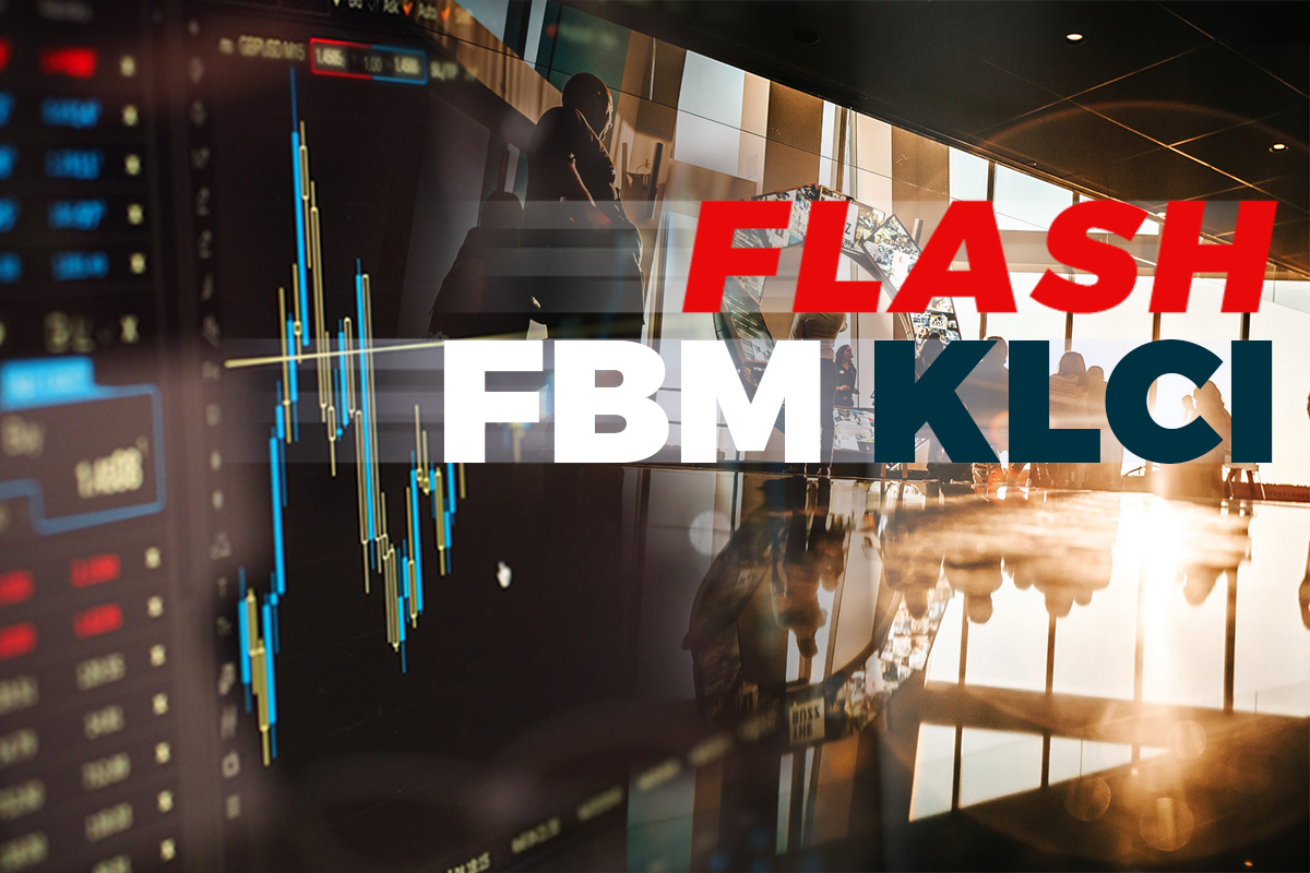 FBM KLCI closes down 10.18 points at 1,566.72
