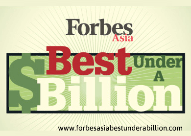 China, HK and Taiwan companies lead Forbes Asia's 'Best