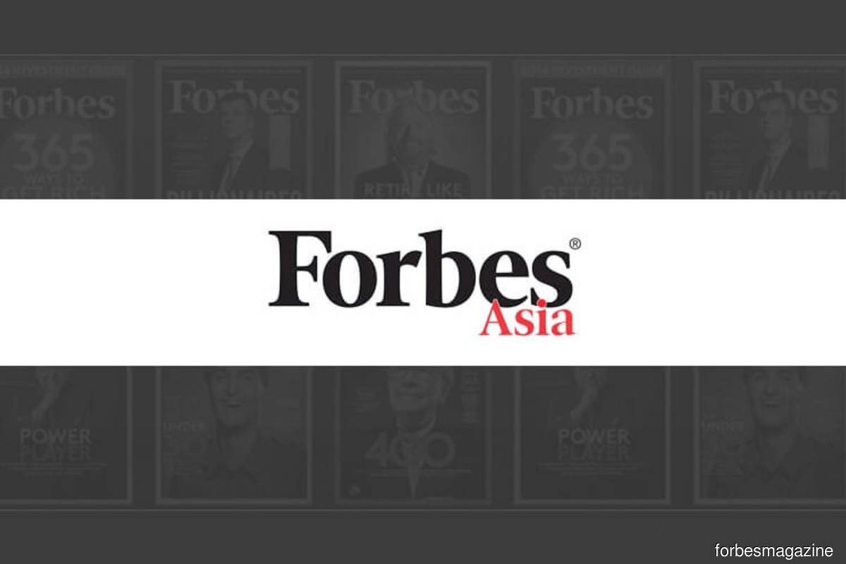 15 Malaysian companies named in Forbes Asia's Best Under A Billion 2020 list