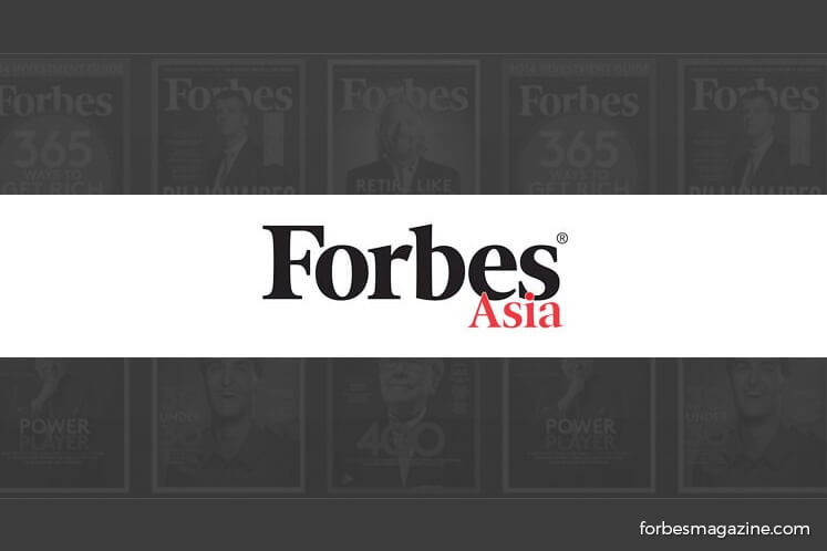 Malaysia maintains 5 companies on Forbes Asia's 'Best Under A Billion'